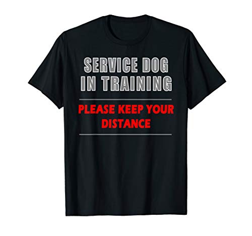 Service Dog In Training Dog Handler and Trainer Shirt