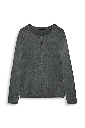 ESPRIT Grigio 019 Cardigan Collection 5 Donna Gunmetal 7qBxTW7wn