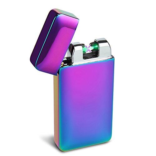 Padgene usb Lichtbogen Feuerzeug mit photoelektrischem Sensor (neues Produkt) (Regenbogen)