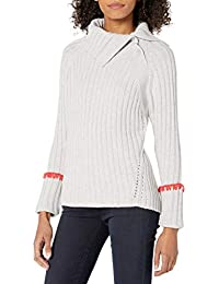 Women's Long Sleeve Cozy Ribbed Tunic Pullover
