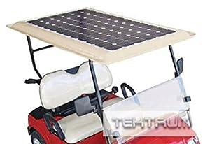 Tektrum Universal 200 watt 200w 48v Solar Panel Battery Charger Kit for Golf Cart