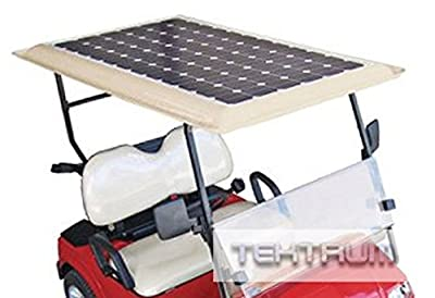 Tektrum Universal 200 watt 200w 48v Solar Panel Battery Charger Kit for Golf Cart