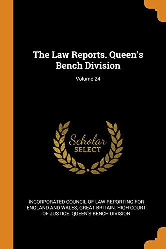 The Law Reports. Queen's Bench Division; Volume 24