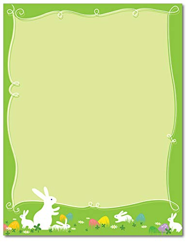 Hippity Hop Easter Stationery Paper - 80 Sheets]()