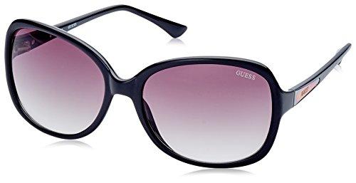 Guess sunglasses GU7345 BLK-35 Plastic Black Black - Glasses Sun Guess