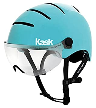Kask Urban Lifestyle - Casco Unisex, Color Aqua, tamaño Medium