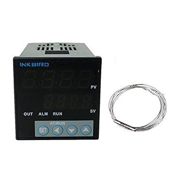Inkbird ITC-100VH 230VAC PID Temperaturregler Thermoelement Thermostat Relais DE