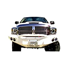 Road Armor 44064B Satin Black Front Stealth Winch Bumper with Pre-Runner Guard for Dodge RAM HD