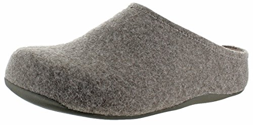 Fitflop Mujeres Shuv Felt Slip On Zueco Zapatos Bungee Cord