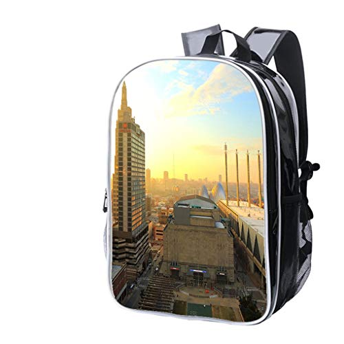 High-end Custom Laptop Backpack-Leisure Travel Backpack Kansas City Missouri New Year 2017 Water Resistant-Anti Theft - Durable -Ultralight- -