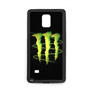 Classic Case Monster Energy pattern design For Samsung Galaxy Note 4 Phone Case