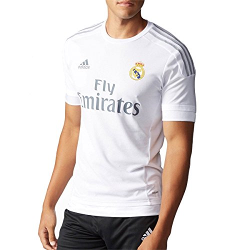 newest collection 70b66 49368 Adidas Real Madrid CF Home Authentic Jersey WHITE