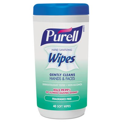 Purell 073852058727698746 Wipes Ff 40Ct