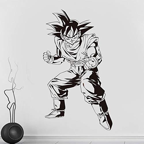 Dragon Ball Z Anime japonés Goku Lucha contra la Postura Tatuajes ...