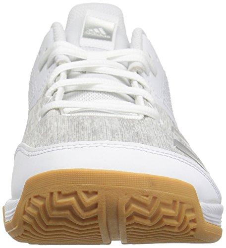 White Grey Shoe Silver Originals Women's 6 Volleyball Metallic adidas Ligra YwCZ4xqxF