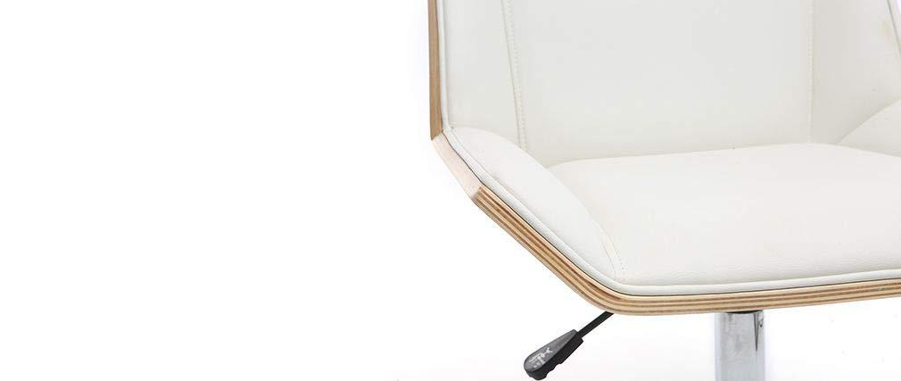 Miliboo - Sillones de oficina precios bajos Melkior fauteuil ...