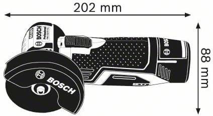 GSR 10,8-2-Li Perceuse-visseuse sans fil Bosch Professional Kit Batterie 8disques /à tron/çonner et Chargeur dans sac Meuleuse GWS 10,8-76V-EC Batterie avec 2x 2,5Ah Batterie Pack