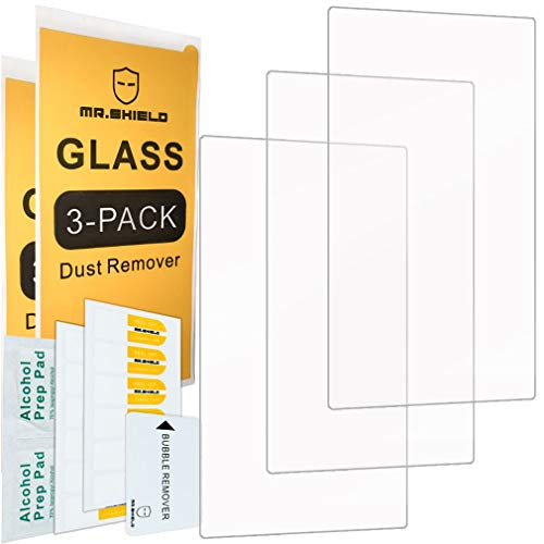 [3-Pack]-Mr.Shield for Red Hydrogen One [Tempered Glass] Screen Protector with Lifetime Replacement ()