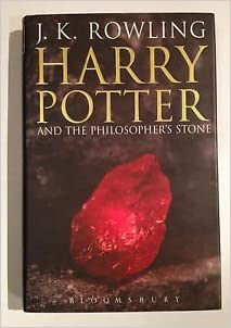 harry potter philosophers stone first edition hardback