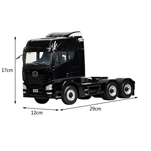 LIUFS-Alloy Car Children's Toy Liberation JH6 Traction Project Truck Static Simulation Alloy Car Model ( Color : Black ) by LIUFS-Alloy Car (Image #5)