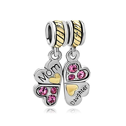 mother-daughter-puzzle-heart-butterfly-charm-bead-fits-pandora-charms-bracelet
