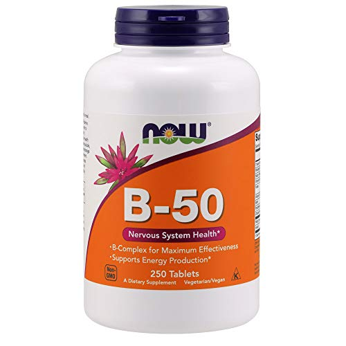 Now Vitamin B-50 mg 250 Tablets