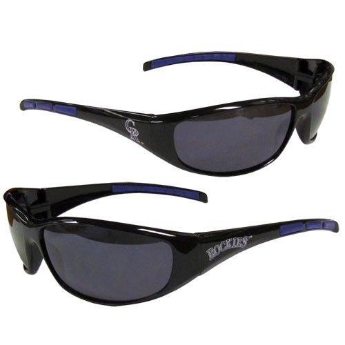 MLB Colorado Rockies 3-Dot Wrap - Sunglasses Colorado Rockies