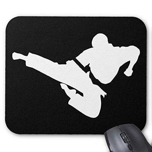 Martial Arts Silhouette - Zazzle Martial Arts Silhouette Mouse Pad