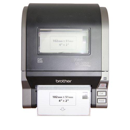 OfficeSmartLabels 10 Rolls Brother Compatible DK1240 DK-1240 Compatible 4'' x 2'' Paper Labels for Brother QL-1050 QL-1050N QL-1060N QL Printer