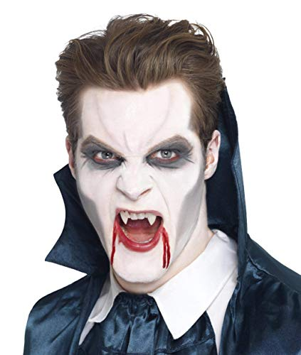 Smiffys Vampire Fangs with Adhesive - White