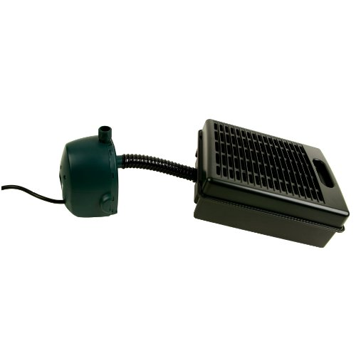 Tetrapond submersible flat box filter import it all for Submersible pond pump with filter