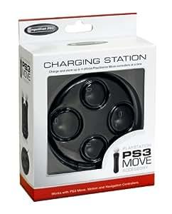 Competition Pro PS3 Move - Base de carga para 4 mandos de PS3