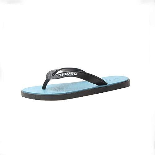 Sandalias cómodas para Hombres Playa/Piscina Chancletas ...