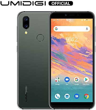 UMIDIGI A3S Unlocked Smartphone 16GB+2GB RAM with 5.7″ Incell HD+ Full-Screen Display 3950mAh Battery,16MP+13MP Dual Camera Cell Phones,2 + 1 SIM Slot,Global Version Android 10 (Midnight Green)