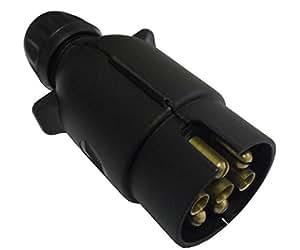 Amazon.com: Beal UK 7 Pin Trailer Plug Plastic Trailer 12v ...