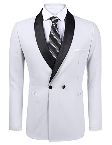 Double Breasted Sport Coat - 8