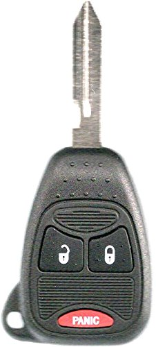 Transponder Remote Head Key Blank Fits Jeep Wrangler Patriot Compass Liberty Grand Cherokee Commander With Do It Yourself Programming Instructions