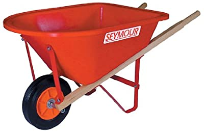 Seymour WB-JR Poly Tray Lightweight Childrens Size Wheelbarrow