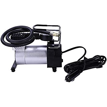 Heavy Duty 12V Portable 100PSI Car Tyre Auto Tire Inflator Pump Air Compressor