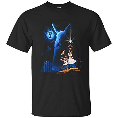 Star Wars Shirt - Monty Python Holy Grail T Shirt for Men, Women and Youth (Unisex T-Shirt;Black;XL)
