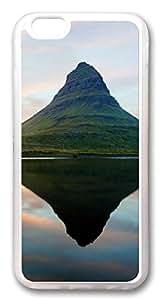 iphone 6 plus 5.5inch CaseMountain TPU Custom iphone 6 plus 5.5inch Case Cover Transparent