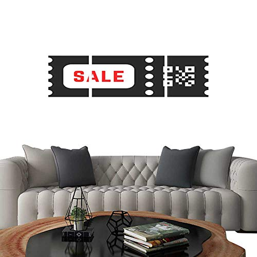 UHOO Modern Canvas Painting Wall Art Coupon with qr Code. Triple Art Stickers 20