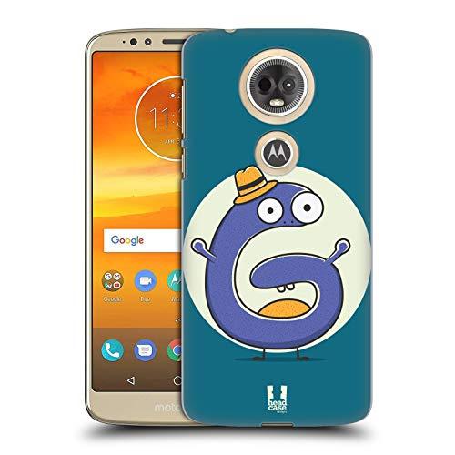 Head Case Designs Sir G Alphabet Monster Hard Back Case for Motorola Moto E5 - Moto Monster G Case