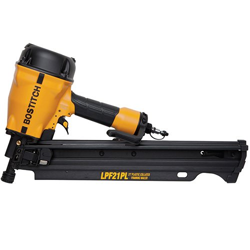 BOSTITCH Framing Nailer, 21 Degree, Low Profile, 3-1/4-Inch (LPF21PL)