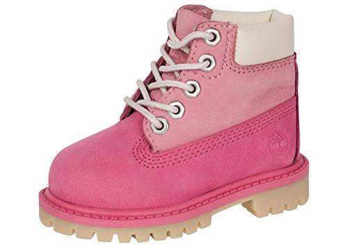 Timberland Toddler Red 6 Inch Premium Waterproof Boots-UK 3.