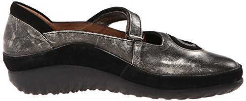 Naot Womens Matai Leather Sandals Metal
