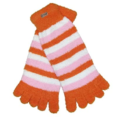 RSG Hosiery Fun & Cute Fuzzy Toe Socks For Girls and Women