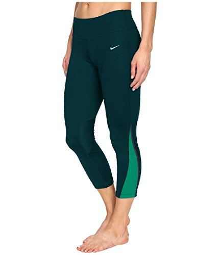 Nike Women's Power Compression Dri-Fit Tights Turquoise T...