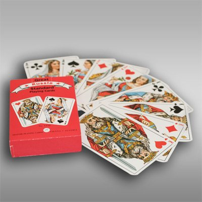 PLAYING CARDS/GREAT RUSSIAN STANDARD [Made in Vienna, Austria. Dimensions: 3.5