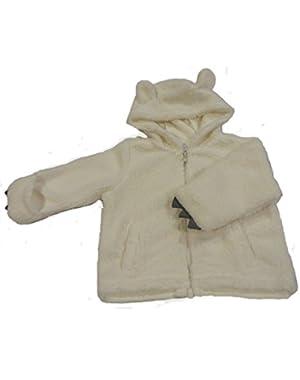 Unisex Baby Furry Hoodie